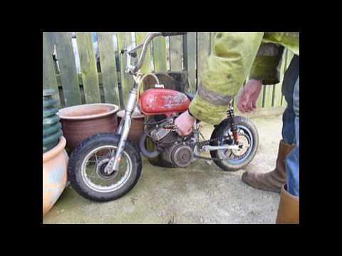 Italjet mini moto start and ride
