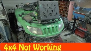 10. Arctic Cat ATV NO 4x4 Repair Diy Actuator Problems