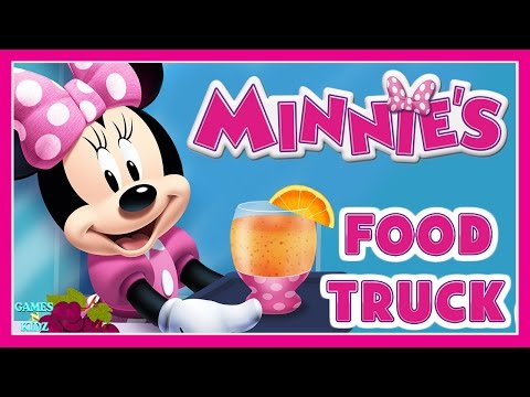 Minnie Mouse Cooking Game  - Minnie's Food Truck Salad  - Disney Junior App For Kids