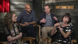 Gillian Jacobs, Keegan-Michael Key, Mike Birbiglia & Kate Micucci: DON'T THINK TWICE