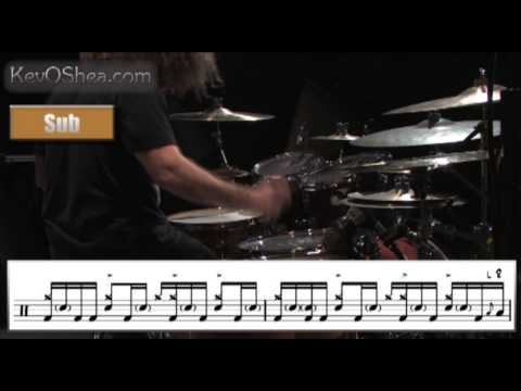 ★ Advanced Drum Lesson ★ Dave Elitch Groove and Fill