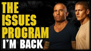 Prison Break Season Review and Issues ProgramPhil Does a random Stream to get him self back up to date after vacation. He talks about the Prison Break Season 5, E3, House of Cards, OITNB and His trip.  ---Please Subscribe: https://www.youtube.com/user/theissuesguystuff?sub_confirmation=1Check out your favorite Shows Playlist! https://www.youtube.com/user/theissuesguystuff/playlistsSubscribe to our podcast on ITunes http://issuesprogram.com/itunes/https://itunes.apple.com/us/podcast/phils-recap-and-review-with-phil-theissuesguy-podcast/id943187265?mt=2Thanks for the support!---To help us Keep going and create more content  consider:Supporting the channel on Patreon: https://www.patreon.com/philtheissuesguyDonate to the Channel on Paypal:  https://www.paypal.me/PhiltheissuesguyAlso it really helps us to check out some off the offers and links bellow! http://www.audibletrial.com/Issues to sign up for 30 free days of Audible and get a free book! It helps us out BiG TIMEl! :)To get 30 days free with 1 games out on Gamefly sign up with the link: http://gameflyoffer.com/issuesSign up LootCrate! http://www.trylootcrate.com/issuesJoin the Record of the Month club: http://joinvmp.com/issues----Stay connected!Discord: https://discord.gg/0upUVdagXcUuzbfGGoogle Community: https://plus.google.com/u/0/communities/116286288385889495387Songs Used on the Show:  https://soundcloud.com/user-521817999And for more check out : http://Issuesprogram.com and our sisters channel http://youtube.com/dirtyissues for more fun!And If you have any questions or anything Call/Text 781 990 8509- 24/7Tweet @igotissuesmanor email igotissuesman@gmail.comThanks!http://issuesprogram.comhttps://twitter.com/igotissuesmanhttps://www.facebook.com/theissuesguyhttps://twitter.com/dirtylockzPartners/Associations Land Of ESH : http://www.electricsistahood.com http://www.youtube.com/dirtyissuesG4 Comic Etc: http://www.g4comicsetc.com------------------------------------------------------------------------------------------------------------------------------------------------------------------------House of Cards is an American political drama web television series created by Beau Willimon. It is an adaptation of the BBC's mini-series of the same name and is based on the novel by Michael Dobbs. The thirteen-episode first season premiered on February 1, 2013, on the streaming service Netflix. Thirteen-episode seasons followed on February 14, 2014, February 27, 2015, March 4, 2016, and May 30, 2017. Willimon has stated that plans for the show's future are decided after each season.[2]Orange Is the New Black (sometimes abbreviated to OITNB) is an American comedy-drama web television series created by Jenji Kohan.[1][2] The series is based on Piper Kerman's memoir, Orange Is the New Black: My Year in a Women's Prison (2010), about her experiences at FCI Danbury, a minimum-security federal prison. Orange Is the New Black premiered on July 11, 2013 on the streaming service Netflix.[3] In February 2016, the series was renewed for a fifth, sixth, and seventh season.[4] The fifth season was released on June 9, 2017.[5] The series is produced by Tilted Productions in association with Lionsgate Television.Prison Break is an American television serial drama created by Paul Scheuring, that was broadcast on Fox for four seasons from August 29, 2005 to May 15, 2009, and a fifth season which aired from April 4, to May 30, 2017. The series revolves around two brothers, one of whom has been sentenced to death for a crime he did not commit, and the other who devises an elaborate plan to help his brother escape prison and clear his name. The series was produced by Adelstein-Parouse Productions, in association with Original Television and 20th Century Fox Television. Along with creator Paul Scheuring, the series is executive produced by Matt Olmstead, Kevin Hooks, Marty Adelstein, Dawn Parouse, Neal H. Moritz, and Brett Ratner who directed the pilot episode. The series' theme music, composed by Ramin Djawadi, was nominated for a Primetime Emmy Award in 2006.[1]