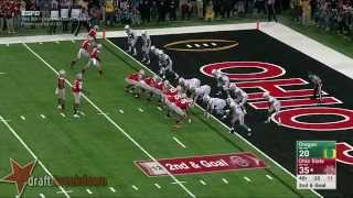 Arik Armstead vs Ohio State (2014)