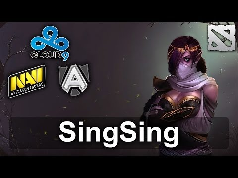 SingSing vs Na'Vi and Alliance