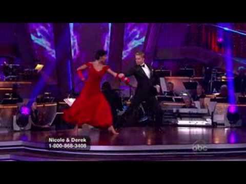 Nicole Scherzinger & Derek Hough – Tango @ Dancing With The Stars