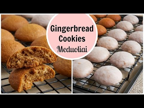 Gingerbread cookies * Meduoliai