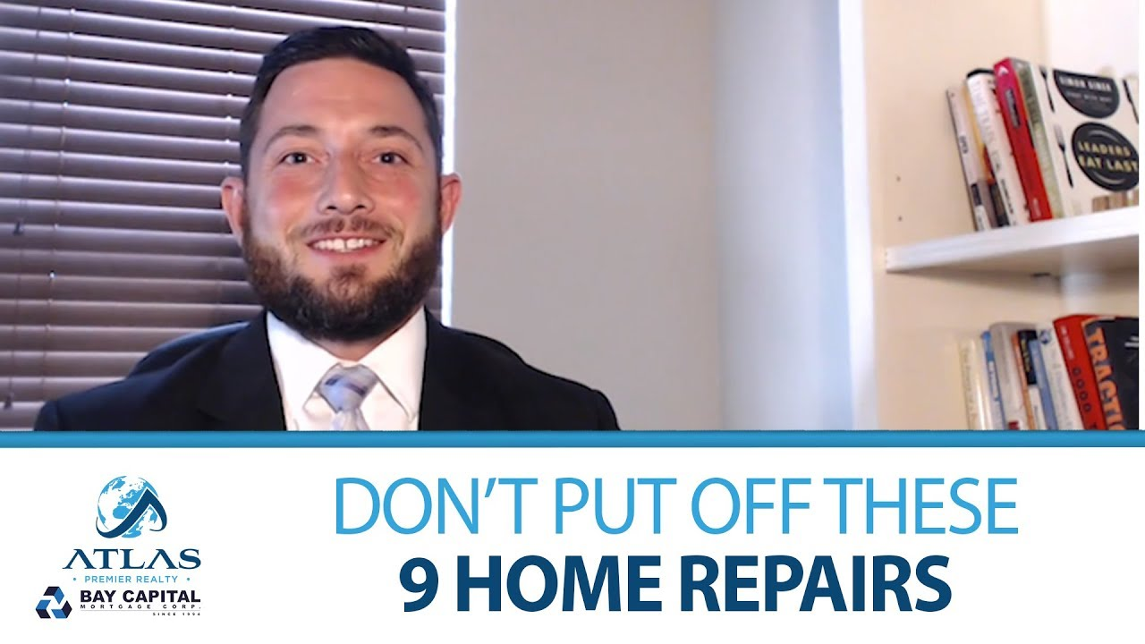 What Home Repairs Simply Can't Afford to Wait?