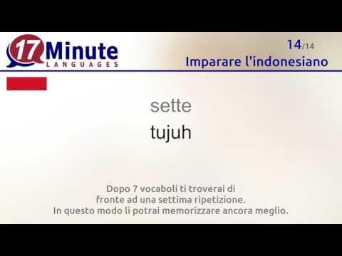 Imparare l'indonesiano (videocorsi di lingua gratuiti)