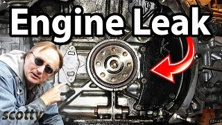 4. How to Stop a Engine Oil Leak in Your Car (Oil Pump Seal)