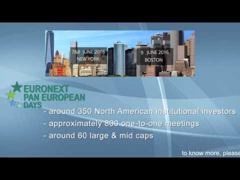 Euronext Pan European Days