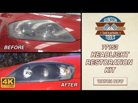 77153 The Gunson Headlight Restoration Kit