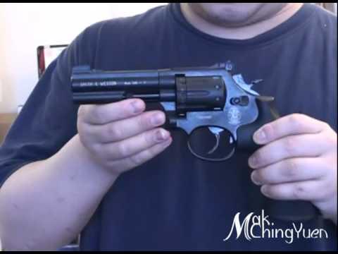 0 Пневматический пистолет револьвер Smith & Wesson M&P R8