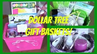 Dollar Tree Gift Baskets | 4 Affordable Gifts! - YouTube