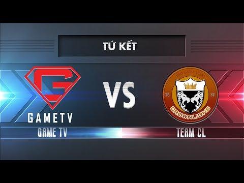 [Tứ Kết] GAMETV vs TEAM CL [25.11.2017] - Garena Liên Quân Mobile - Thời lượng: 1:14:30.