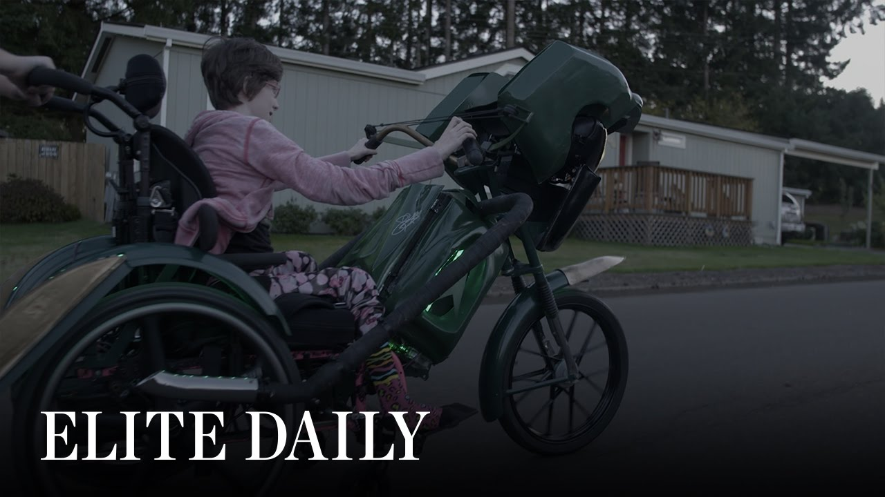 This Father's Charity Builds Halloween Costumes For Children In Wheelchairs