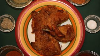 At http://www.barefootfoodie.net - Oven fried chicken is the healthiest way that we could think of to cook fried chicken. You got to...
