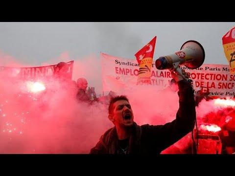 Οι Γάλλοι «πρωταθλητές» στις απεργίες