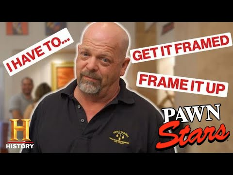 """Pawn Stars: """"I Have to Get it Framed"""" (7 Tough Negotiations for Big Money Art) 