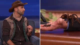 Video Coyote Peterson Introduces Conan And Jeff Goldblum To Some Creatures  - CONAN on TBS MP3, 3GP, MP4, WEBM, AVI, FLV Maret 2019