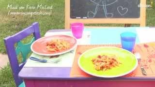 Nudeln mit Chorizo (Spanisches Kinderessen)