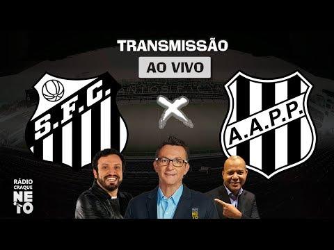 Santos x Ponte Preta | AO VIVO | Quartas de Final - Paulistão 2020 | Rádio Craque Neto