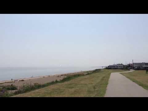 Eflite ASK 21 slope soaring at kessingland beach