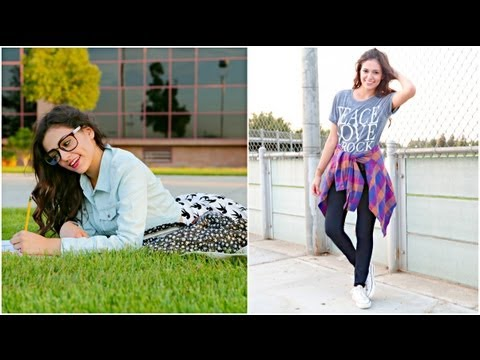 It's a first week of school outifts video by Macbarbie07. She's a ...