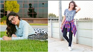 First week of school outfit ideas!! - YouTube