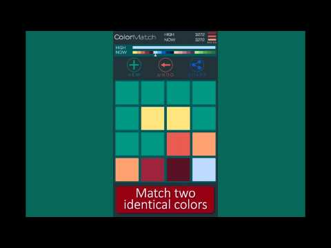 Video of 2048 Color Match