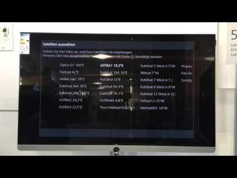 Loewe TV Erstinstallation und Senderprogrammierung Teil 1