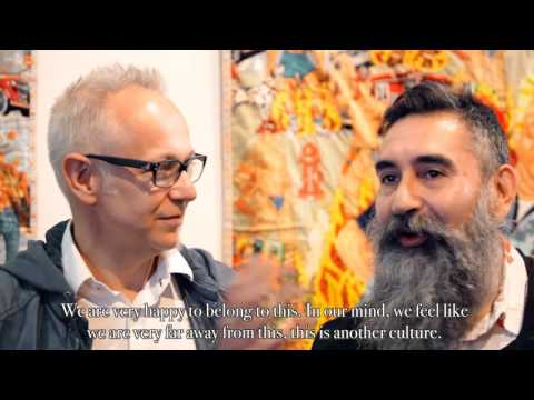 LEO CHIACHIO & DANIEL GIANNONE - HEY! modern art & pop culture - ACT III, 2015