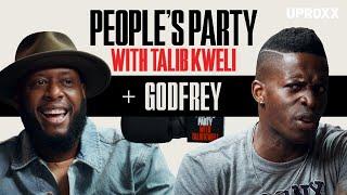 Talib Kweli And Godfrey Talk Rappers vs. Comics, Studying Bernie Mac, Snoop Dogg   People's Party