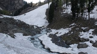 Pahalgam India  City new picture : Snow At Chandanwari, Pahalgam, Kashmir, India HD Video