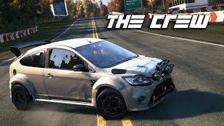10. The Crew [HD+] ★ Closed Beta ★ Ford Focus RS Dirt Spec ★ Nature Trail [Fanatec CSR]