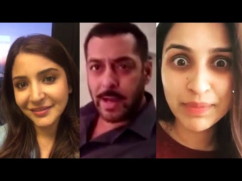 Salman Khan, Anushka Sharma, Parineeti Chopra Shar