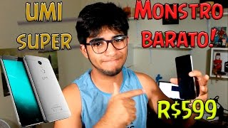 Smartphone top de linha de R$550 - Umi Super (Review) Video