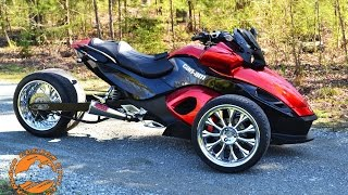 "10. 2008 CAN-AM SPYDERâ""¢ GS SM5"