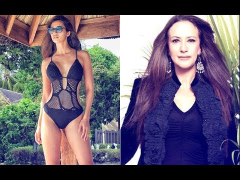 Video Disha Patani Posts Pic In Swimwear & this is what Tiger Shroff's Mom Ayesha Comments download in MP3, 3GP, MP4, WEBM, AVI, FLV January 2017