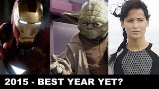 2015 Movies : The Avengers 2, Justice League, Star Wars Episode 7 - Beyond The Trailer