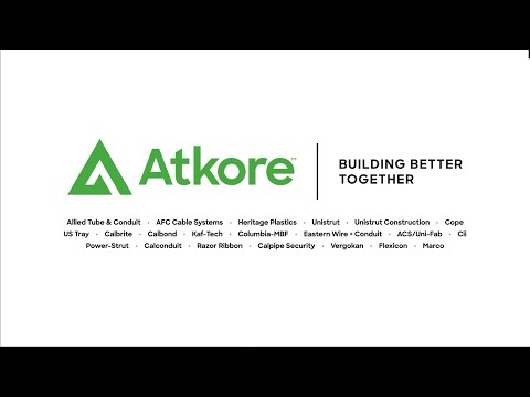 Atkore Building Better Together