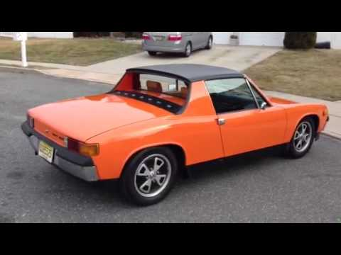 Flat four Engine - The final sounds of my Nepal Orange 1973 Porsche 914 - Sold but going to a good home!
