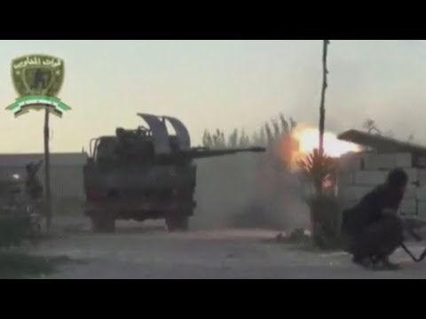 Released - Amateur footage posted to a social media website appears to show intense fighting in several parts of Syria including Aleppo and Damascus. In one part of the...