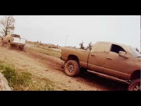 Ford vs. Dodge tug-of-war battle