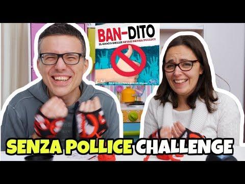 BAN-DITO CHALLENGE: il gioco delle SFIDE SENZA POLLICE