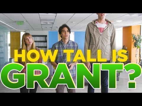 How Tall Is Grant? (видео)