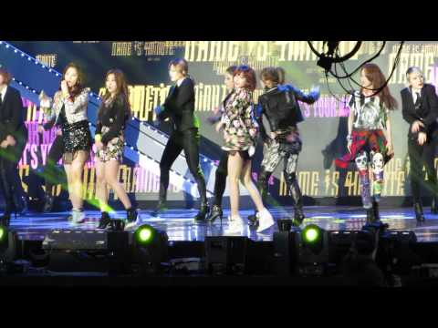 What's Your Name- 4Minute(포미닛) @ 3rd Gaon Chart K-Pop Awards
