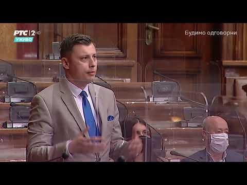 Obraćanje u Skupštini 12. 05. 2021. g. – Narodni poslanik SPP-a Samir Tandir