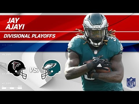 Jay Ajayi's 98 Total Yards vs. Atlanta! | Falcons vs. Eagles | Divisional Round  Player HLs (видео)