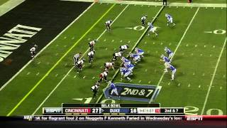 Conner Vernon vs Cincinnati (2012)