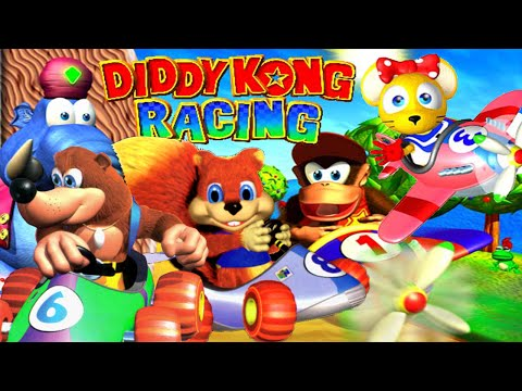 diddy kong racing nintendo 64 comment battre wizpig